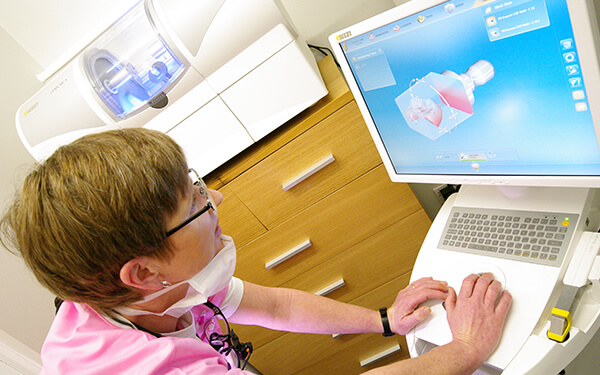 Cerec one visit dentistry stage 1