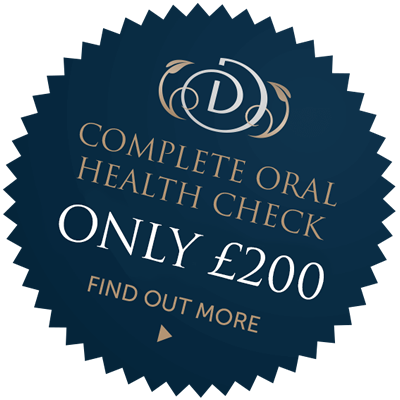 New patient complete oral health check for only £99